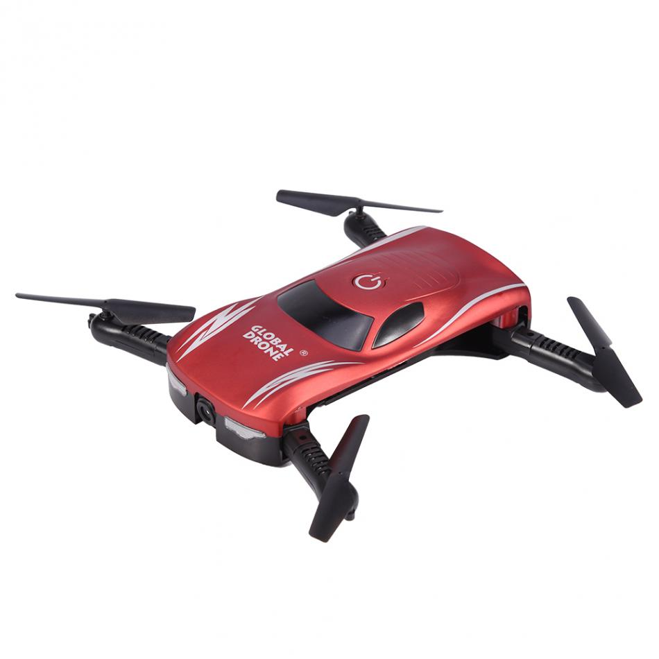 GW186 Foldable RC Drone Quadcopter Altitude Hold WiFi Remote Control Helicopter Toy with HD Camera Voice