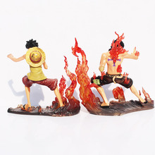 Cool Toys Brotherhood One Piece DX Luffy VS Ace Anime Action Figure Toy