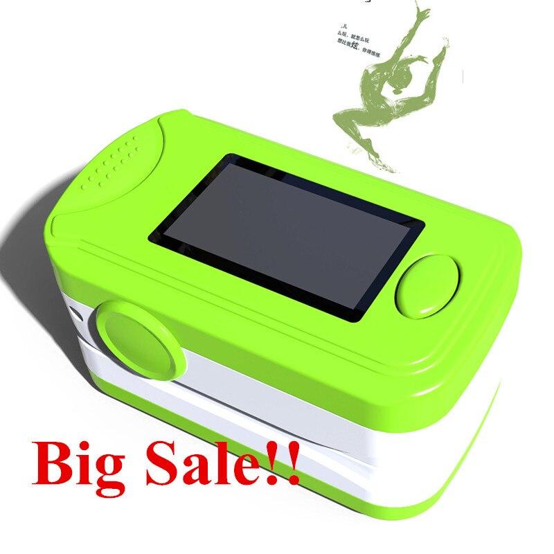 Hot Sale!!!Free shipping Health care CE OLED Finger Pulse Oximeter Blood Oxygen SPO2 PR Oximetro Monitor Blood Pressure Monitor