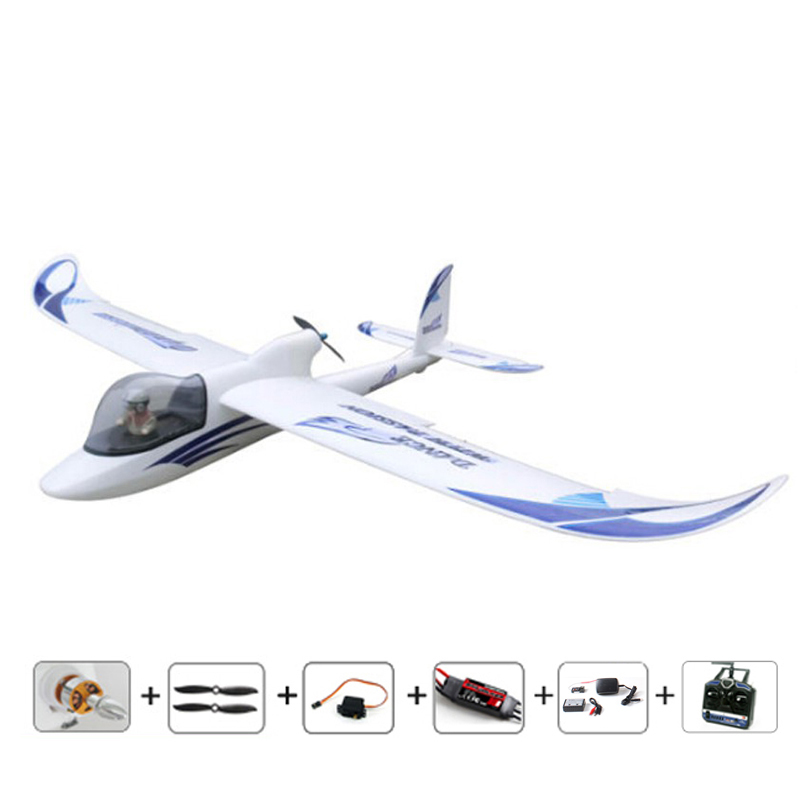 Free shipping New 1500mm Dynamic skysurfer Glider RC brushless airplanes Ready-to-Fly model plane radios EPO control air plane