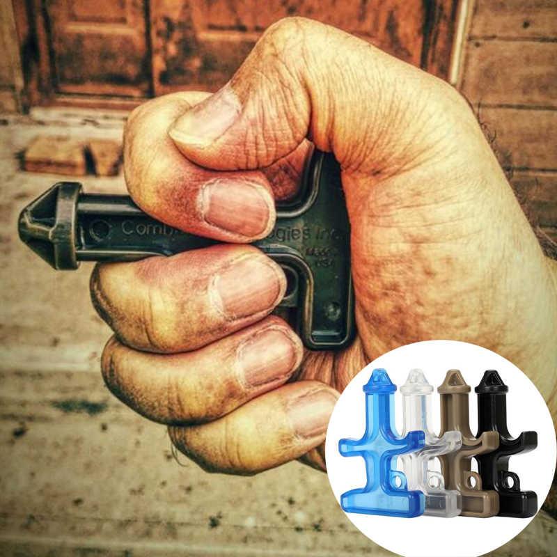 100 EDC pçs/lote Boxe Espinho Stinger Duron Broca de Aço de Nylon Mulheres de Armas Táticas de Sobrevivência de Emergência Proteção Autodefesa