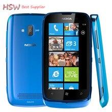 100% Оригинал Nokia Lumia 610 gsm 3 г WI-FI GPS 3.7 »сенсорный Окна телефон 5MP Камера Multi-Цвет В наличии Бесплатная доставка