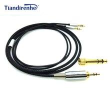 Cable de repuesto para Hifiman, Cable de Audio HIFI macho de 3,5mm a 2x6,35mm para auriculares Hifiman HE 560V3 HE560V3