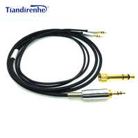 Replacement Cable for Hifiman for Hifiman HE-560V3 HE560V3 Headphone 3.5mm male 6.35mm to 2x 3.5mm Male Audio HIFI cord