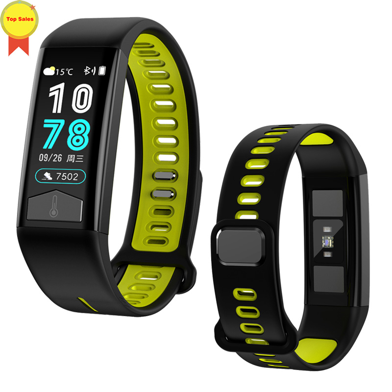 ECG PPG Smart Watch Heart Rate Blood Pressure Monitor ECG Smart Bracelet IP68 Waterproof Pedometer Sport Fitness ECG Wristband