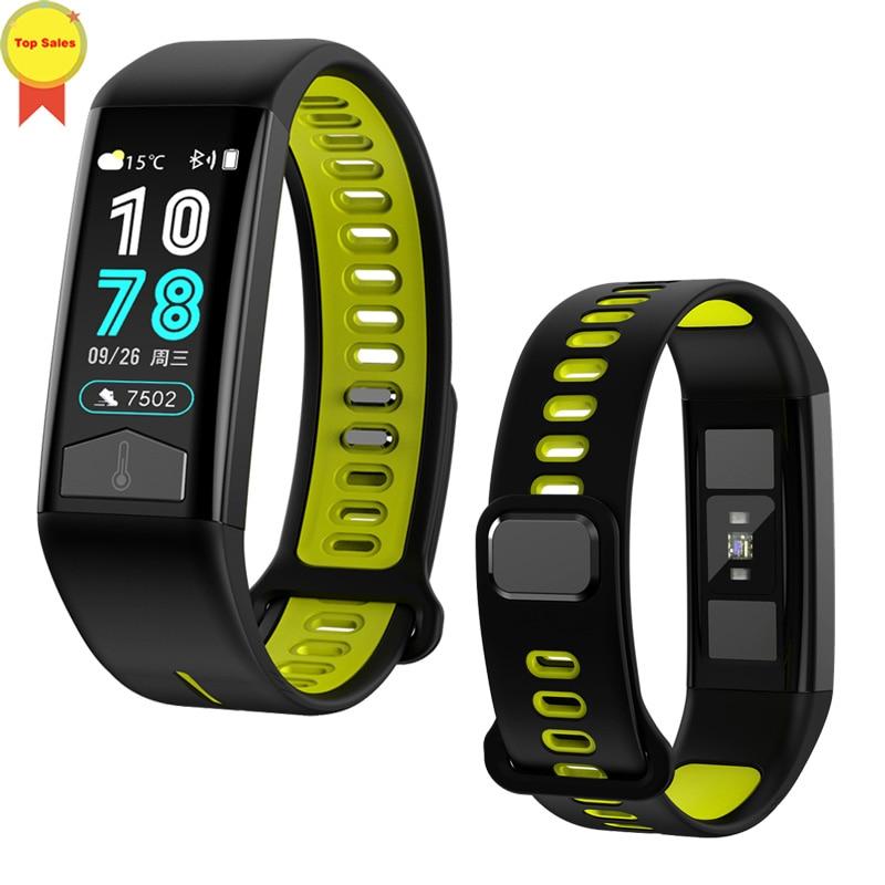 Permalink to ECG PPG Smart Watch Heart Rate Blood Pressure Monitor ECG Smart Bracelet IP68 Waterproof Pedometer Sport Fitness ECG Wristband