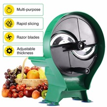 Manual Multi-function Small Fruit Vegetable Slicer And Commercial Kitchen Slicing machine