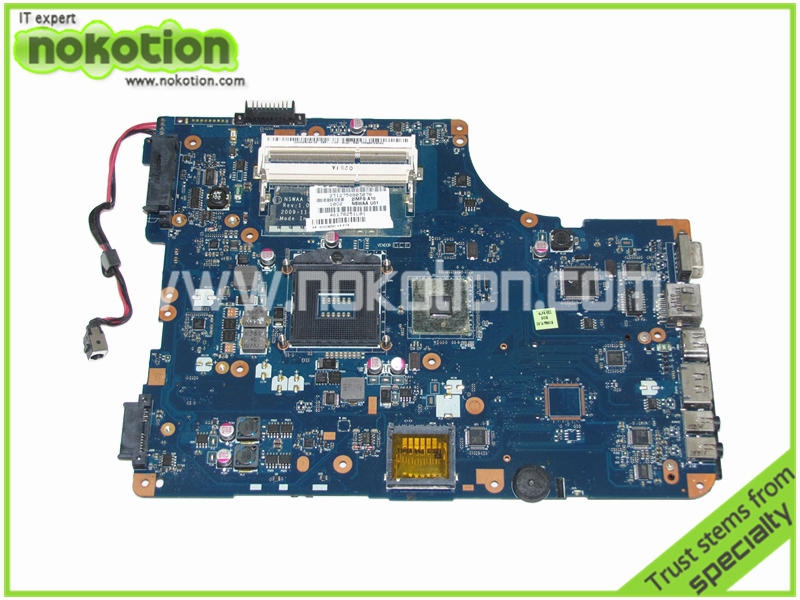 NSWAA LA-5321P K000092540 Laptop motherboard For Toshiba Satellite L500 intel DDR Mainboard full tested original laptop motherboard for toshiba t215 t220 k000106050 la 6032p mainboard 100% full tested