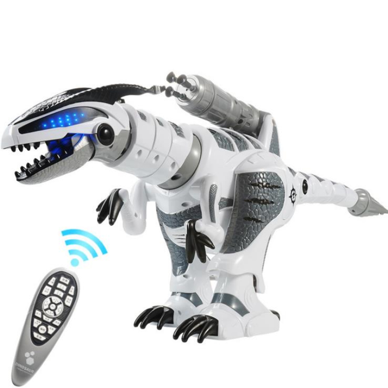 Electric Pet Toy K 9 Walking Sing Simulation RC Battle Animal Robot Interactive Intelligent Dinosaur Toy With Launch Soft Bullet