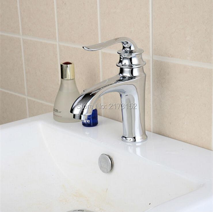 1621f05c43b0 ᗑ Бесплатная доставка  Роскошные Chrome Ванная комната кран Royal ...