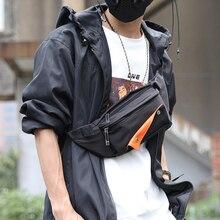 FYUZE Multifunction Men Bags  Shoulder Bag Waterproof Anti Theft  Chest Pack Short Trip Messengers Crossbody Bag Male