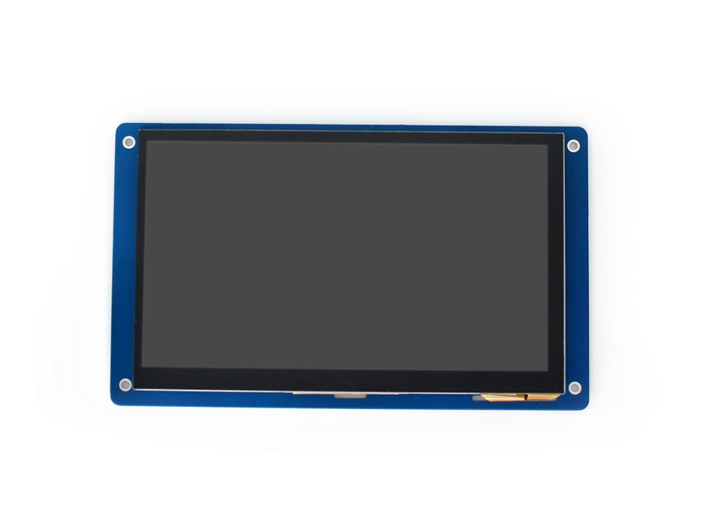 Waveshare 7inch Capacitive Touch LCD (G) 800 * 480 Multicolor Graphic LCD touch screen for use with MCU with LCD controller 7inch resistive touch lcd display module 800 480 pixel multicolor screen ra8875 controller embedded 10kb character rom