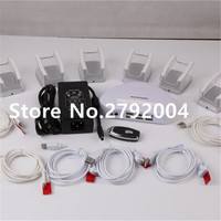6 Port Mobile Cellphone Tablet Remote Control Alarm Security Display System