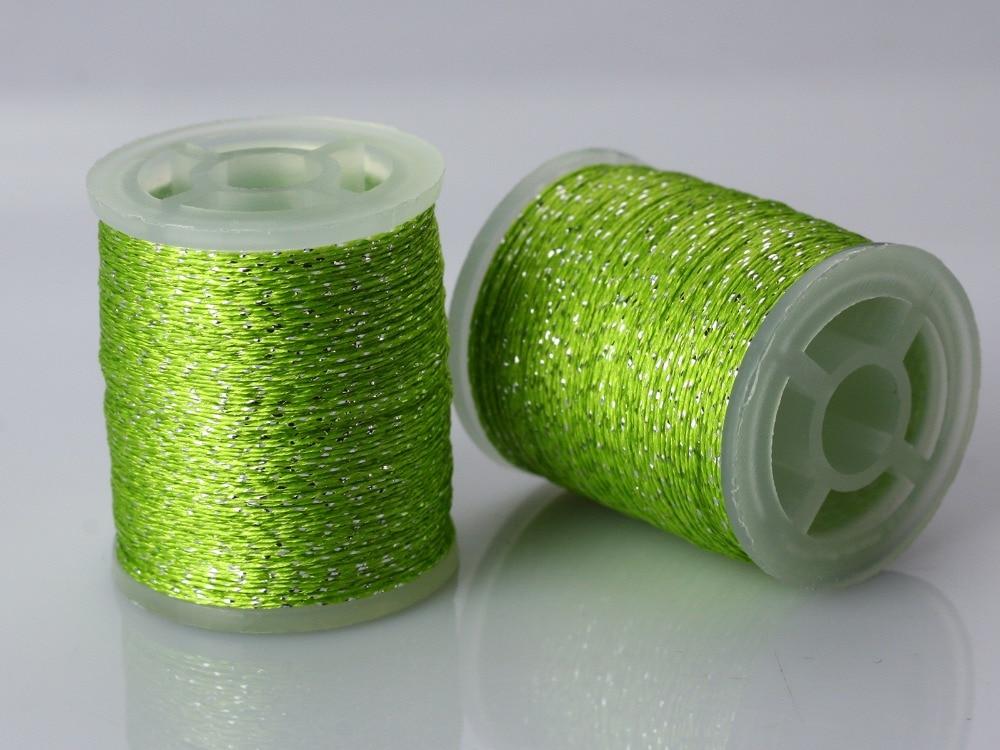 Iridescent Thread Fly დამაგრების - თევზაობა - ფოტო 5