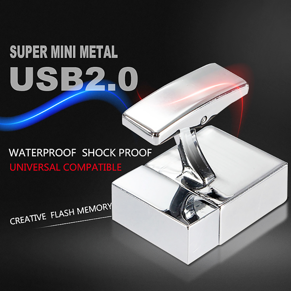 Mini tiny 128G USB Flash Drive pen 8GB 16GB 32GB 64G Black Micro Pen Drive USB Stick Car key drive Free shipping
