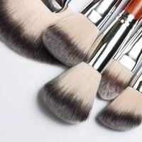 100% soft hair Makeup Brushes Pro 18/24pcs Make Up Brush Set Kit Powder Blending Eye Shadow Concealer Contour Cosmetic tools