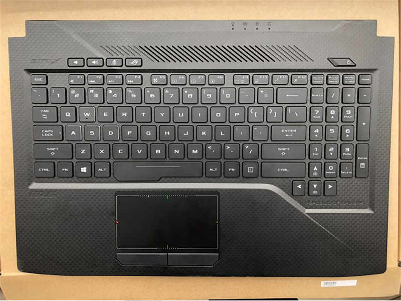 New Asus Rog G551 G551J G551JK G551JM Upper Palmrest Case W Backlit Keyboard USA