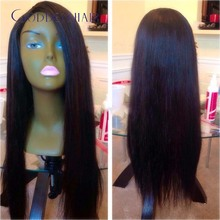 100% unprocessed virgin brazilian human hair u part wigs,glueless cap with straps and combs 1×4 side u part black upart hair wig