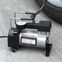 150 Вт Воздушный компрессор металлический DC12V 80 фунтов на квадратный дюйм Электрический насос подкачки шин для авто велосипеды мотоциклы с светодиодный фонарик Лидер продаж