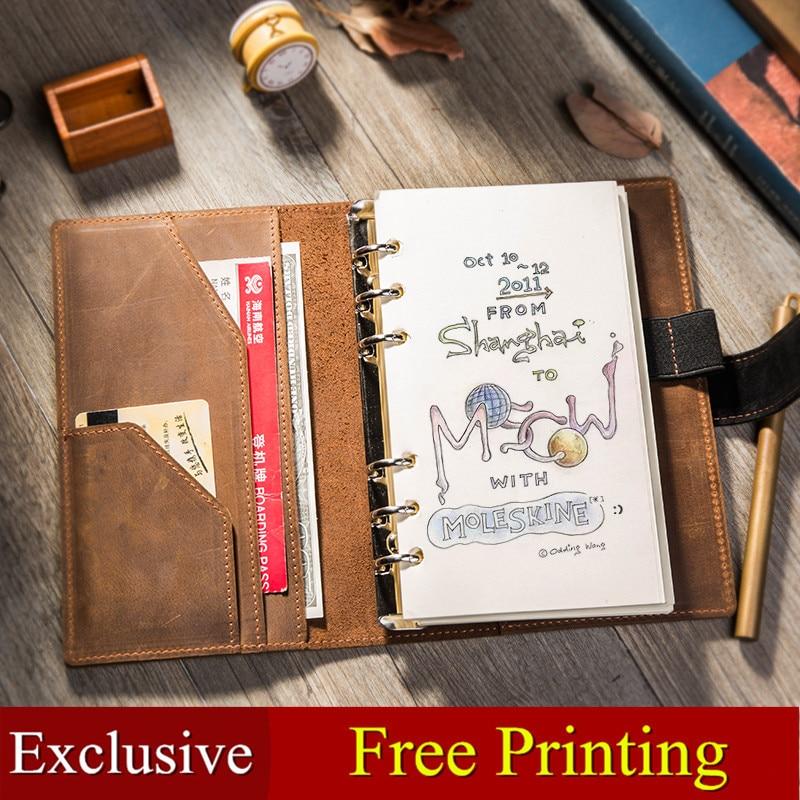 Traveler's Notebook Travel Journal Diary Handmade