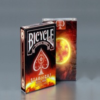 1 Deck Bicycle Starlight Solar Playing Cards Sun Magic Cards Poker Close Up Stage Magic Tricks