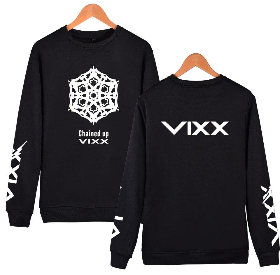 K-POP VIXX Hoodies Frauen Männer Pullover Sweatshirt Fans - Damenbekleidung - Foto 4