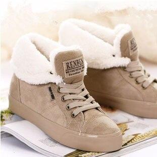 До щиколотки сапоги для женщины сапоги туфли-botas femininas снегоступы зима черный зима сапоги женщины обувь