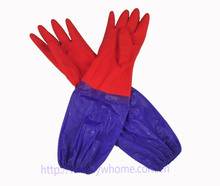 Thickening and villus Rubber Dish Washing Gloves Household Duties Cleaning laundry Gloves 1 5 OFF for