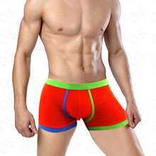 janeless Brand underwear men boxers shorts homme soild sexy cueca masculina wolf calvin pull in gay clothing interior