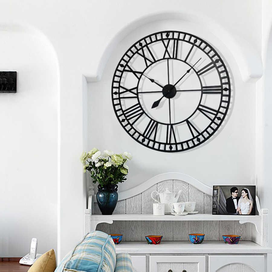 Parede saatk digital deco salão de beleza crianças barbeiro mickey cozinha saatk guise relógio cuckoo para casa decoração w5051