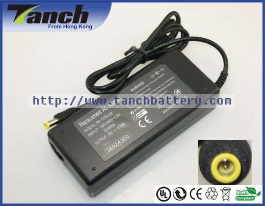 Laptop ac adapters voor SAMSUNG R540 ADP-60ZH NP300E5C NP530U3C - Notebook accessoires