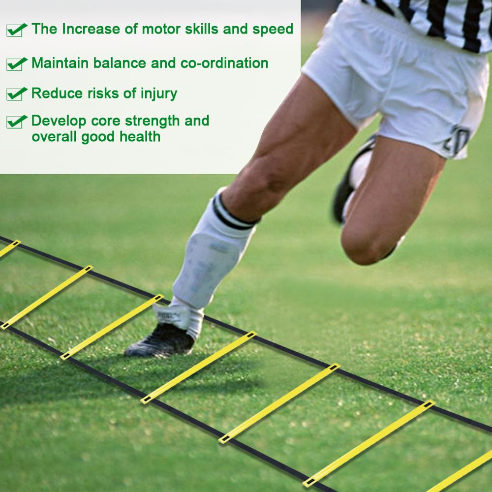 1XSet Agility Speed Ladder Training For Soccer Speed