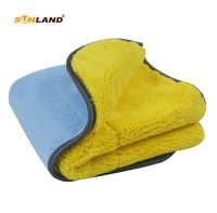 Sinland 2 paczka nowy projekt pluszowe samochodu z mikrofibry ręcznik wysokiej jakości Super chłonne samochodu umiera ręcznik do czyszczenia dwustronnie