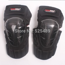 2015 New Brand Carbon Fiber Motorcycle Knee Pads Motocross off road Racing knee Protector font b