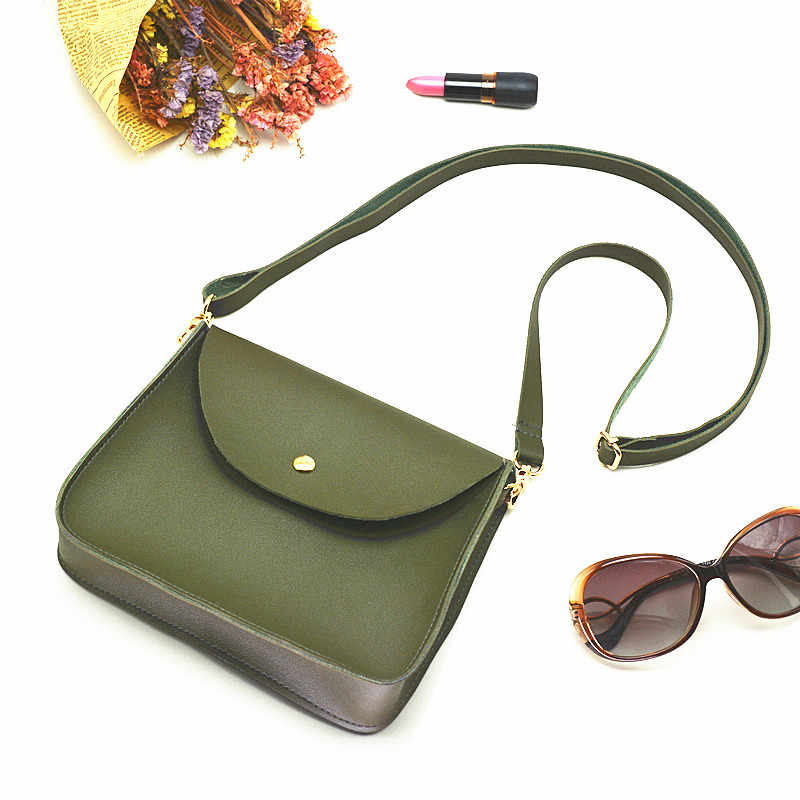 3ed9c26277a Designer handbags green shoulder bag small bags female soft PU leather  messenger bag crossbody fashion summer women handbag