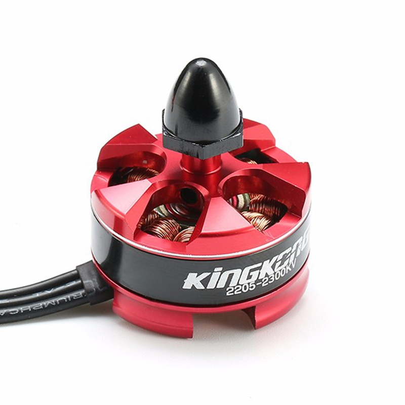 цена на LDARC 2205 2300KV CW/CCW Brushless Motor For KINGKONG RC Multicopter QAV250 Give Motor Protection Seat
