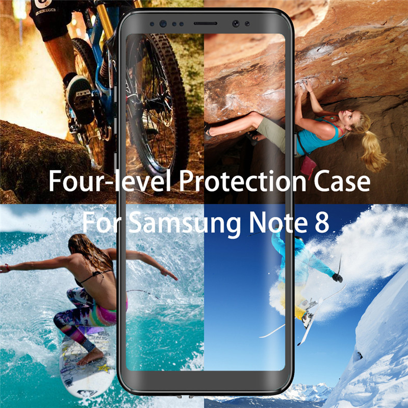 IP68 360 Full Protection Waterproof Phone Case for Samsung S10E S10 Lite S9 Plus Swimming diving Cover for note 10 pro 9 8 coque