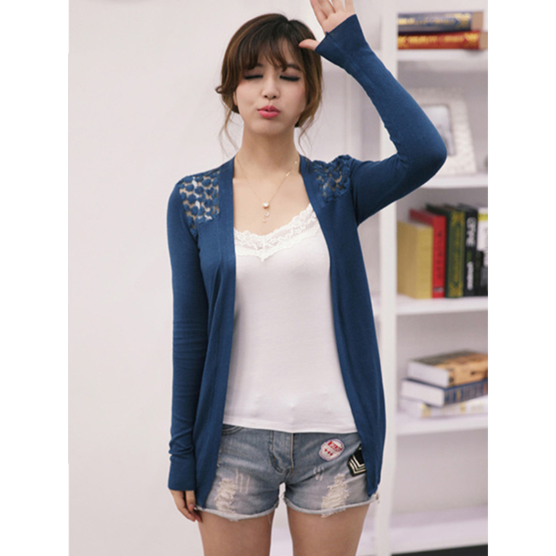 Dropshipping Candy Color Women Cardigan Sweaters New Design Ladies Lace  Knitted Shrugs Casual Short Loose Solid - Online Get Cheap Women Short Lace Cardigans Shrug -Aliexpress.com