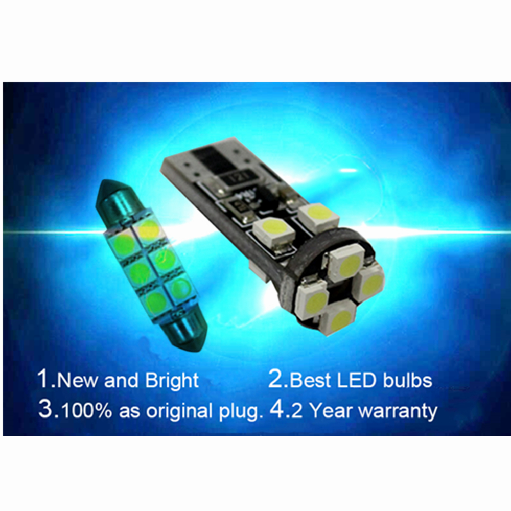 Led Interior Light Kit Package For Mercedes Benz C Class W204 3v 3w Amber Power 55lm Rapid Online 8