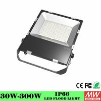 120 130lm/W AC 100 240V 100w led flood light IP65 High Brightness Strong Waterproof Grade