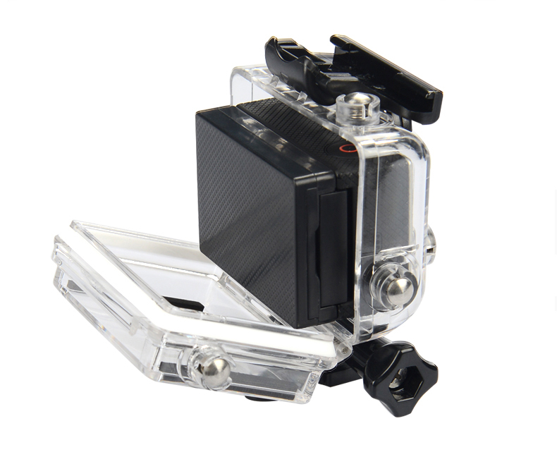 Back Door Screen LCD Battery BacPac Rear Cover For Waterproof Case Of Go Pro Hero 2 3 3+ 4 Accessories