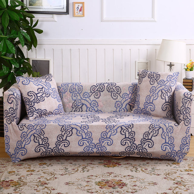 Monily Fl Elastic Couch Cover Stretch Protector Sofa Wrap Slipcovers All Inclusive