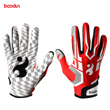 BOODUN Pro Baseball Batting Glove for Men Women Anti Slip PU Leather Softball Sport Gloves Baseball Hitter Gloves Equipment professional baseball glove batting gloves unisex baseball softball batting gloves anti slip batting gloves for adults unisex