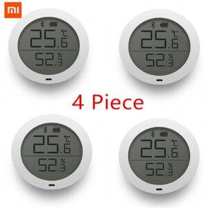 Image 1 - במלאי המקורי Xiaomi Mijia Bluetooth טמפרטורה חכם לחות חיישן LCD מסך דיגיטלי מדחום לחות מד Mi APP