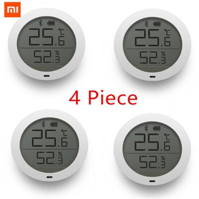 במלאי המקורי Xiaomi Mijia Bluetooth טמפרטורה חכם לחות חיישן LCD מסך דיגיטלי מדחום לחות מד Mi APP