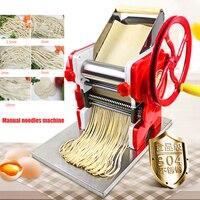 Household Manual noodles machine Commercial dumpling skin maker Pasta Maker Machine DIY noodle maker 18cm noodle roller width