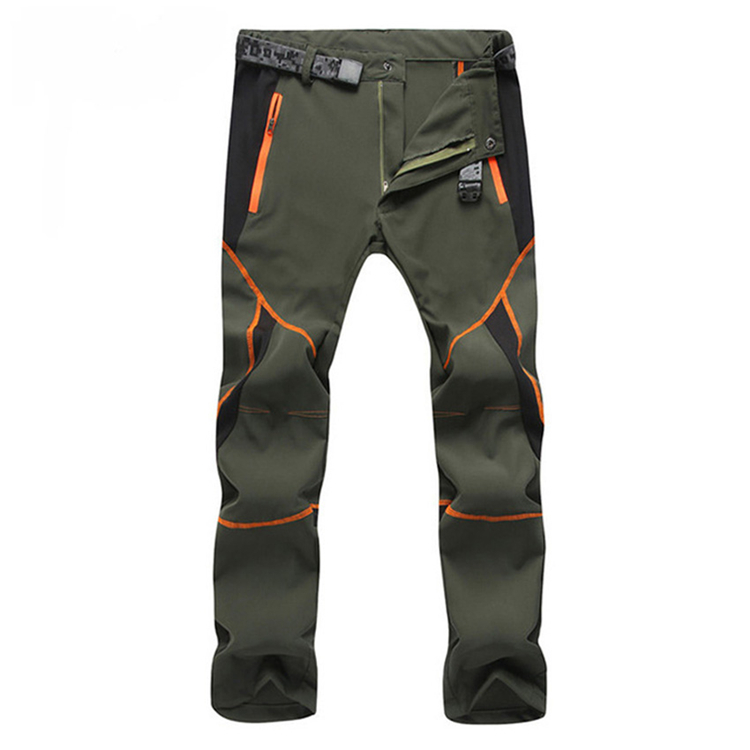 Summer Elastic Ultra-Thin Male Cargo Pants Men Quick Dry Breathable Men's Sportswear Trousers Tactical Pants Hombre Dropshipping