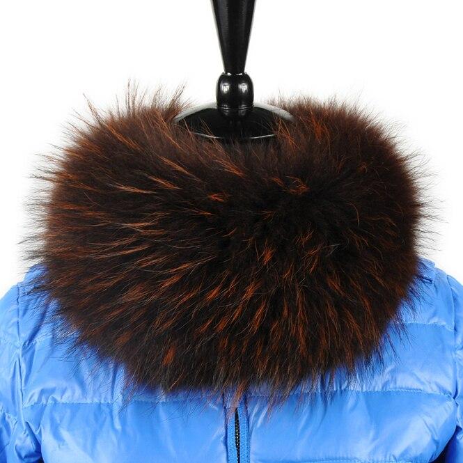 Livraison gratuite La nouvelle mode fourrure de raton laveur collier écharpe  femmes 2 couleur hiver écharpe 55 cm   15 cm tout vente bd8f2760033