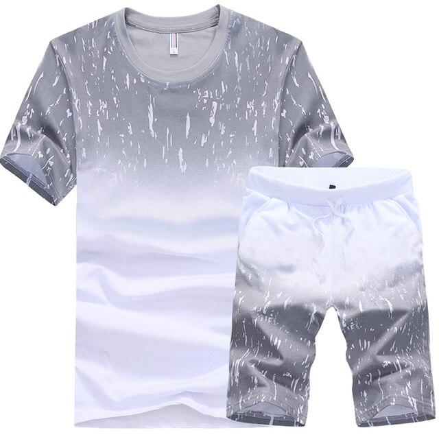 Nouvelle Arrivée T-Shirt Ensembles 2017 Style Décontracté D été Chemises de  Plage Homme f5a5a91f384