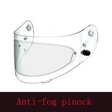Ясно pinlock Анти-туман патч мотоцикл полный Уход за кожей лица шлем универсальный для K3 K4 ax8 LS2 HJC Marushin Шлемы объектива анти-туман козырек